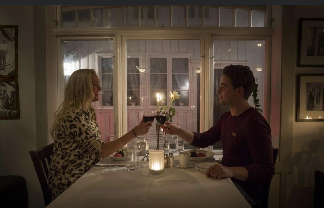 Romantikk ved havet Sogndalstrand