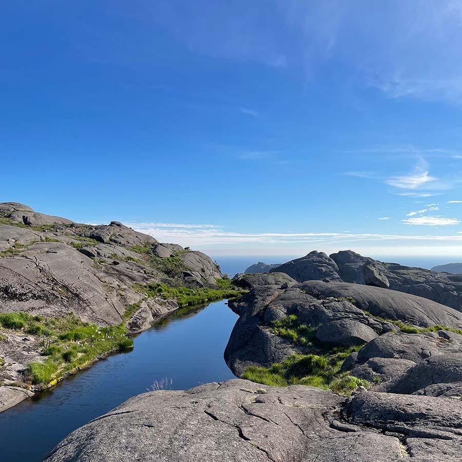 Magma Geopark i Jøssingfjord