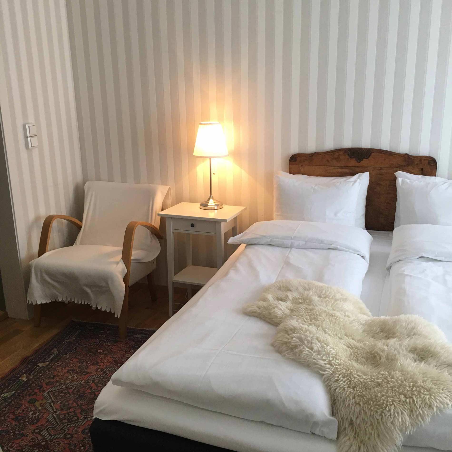Hotellrom på Sogndalstrand